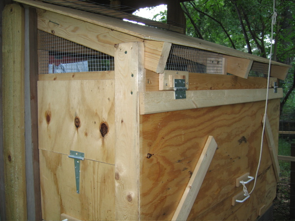 Ventilation In Your Chicken Coop - Why Is It Important & How To Provide It? Ventilation is important both for the summer and the winter for your chickens.