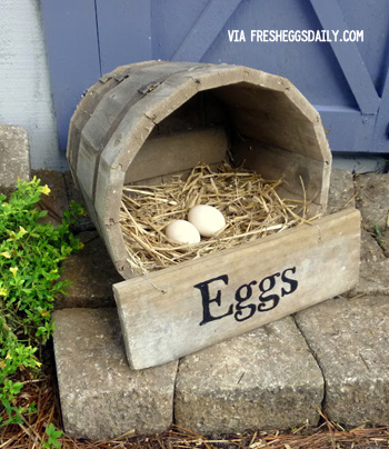 DIY Nesting Boxes for chickens